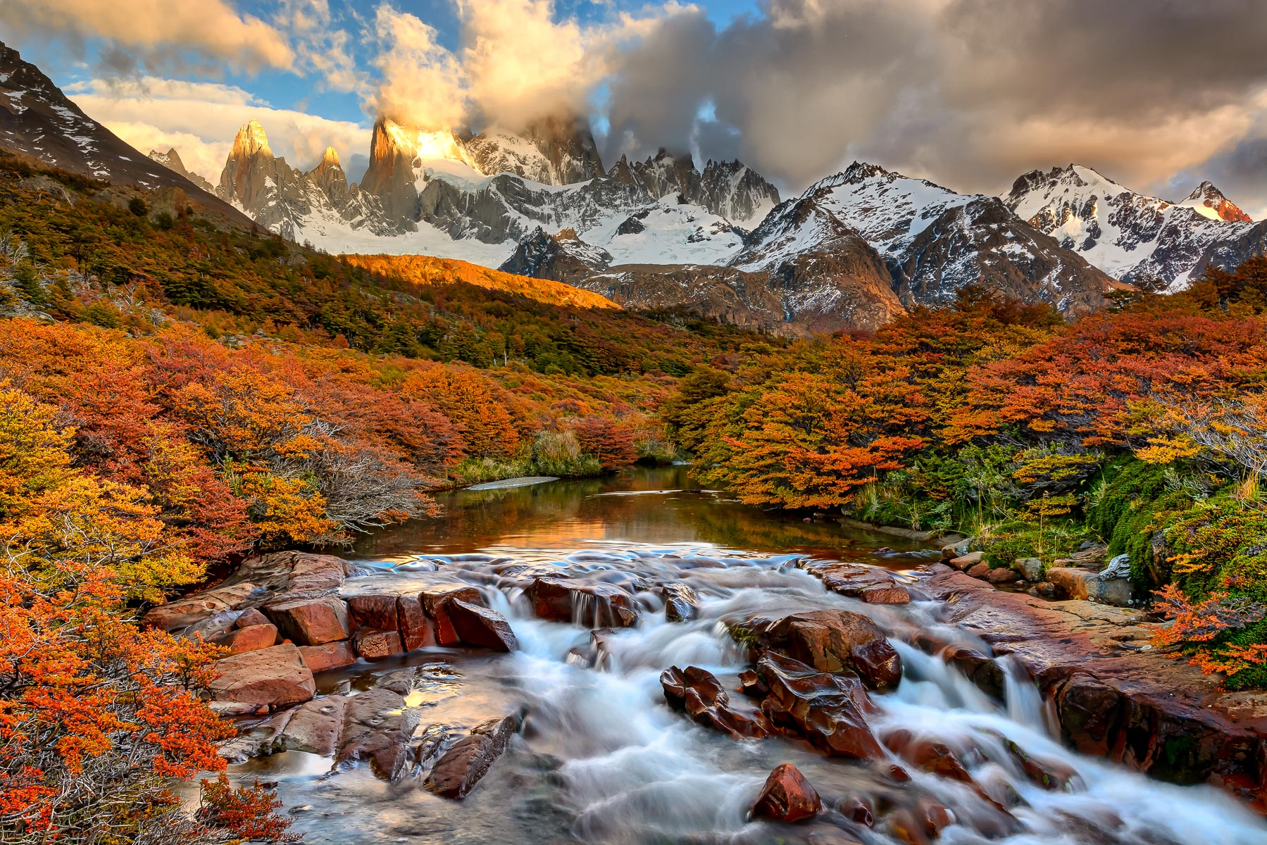 Fitz Roy Fall Sunrise