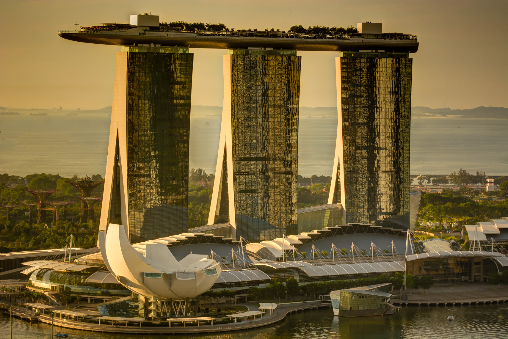 Marina Bay Sands at Sunrise