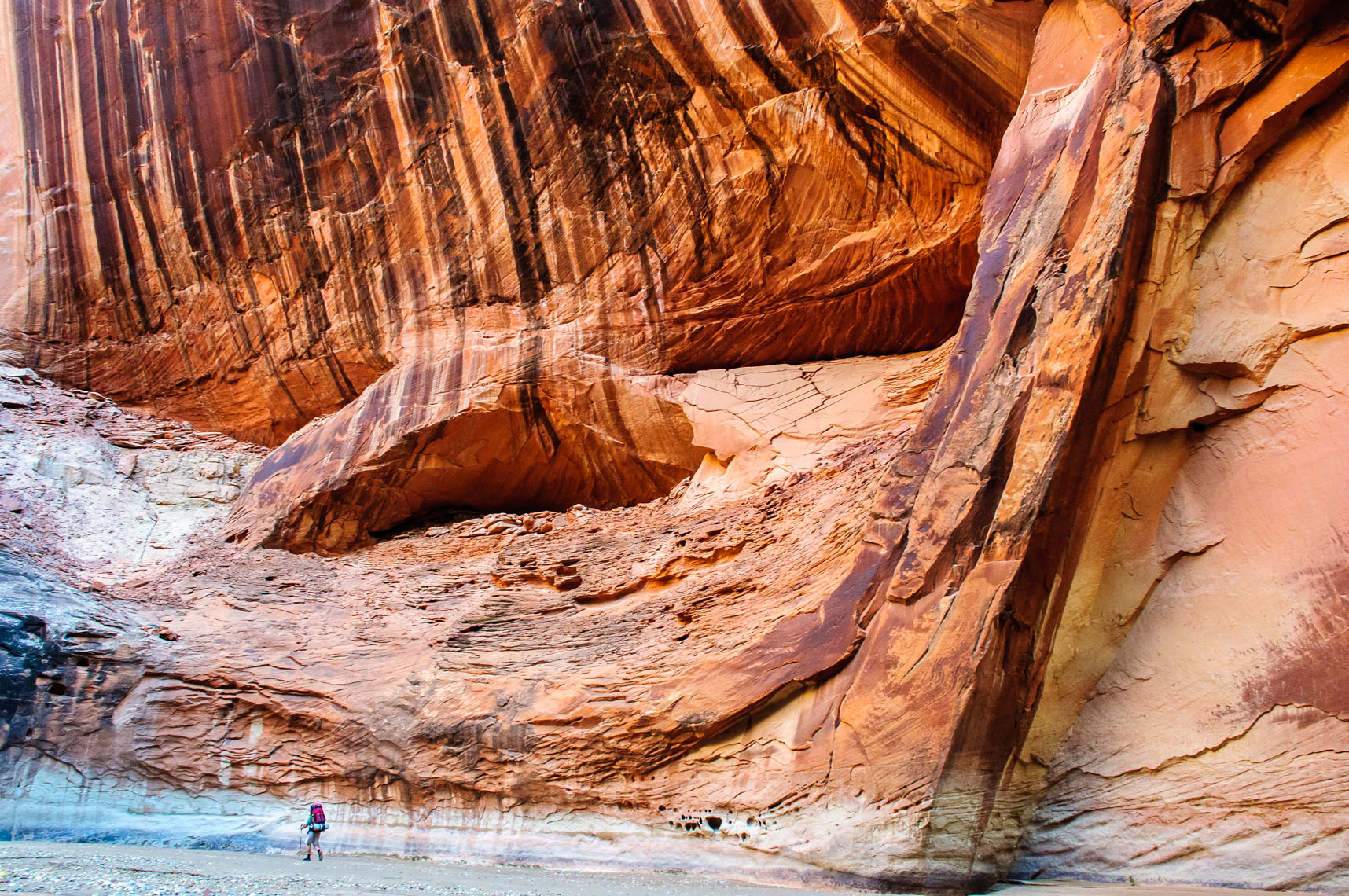 Backpacking in Paria Canyon