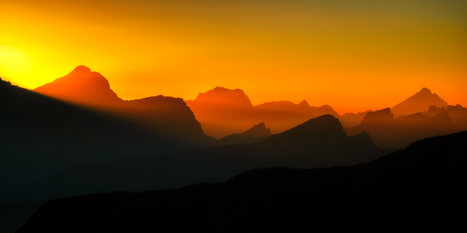 Sea of Peaks Sunrise